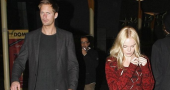 Alexander Skarsgard loving the attention after Kate Bosworth split